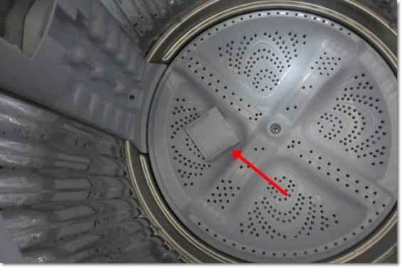 ES-GE7B洗剤を入れるところの蓋が取れる