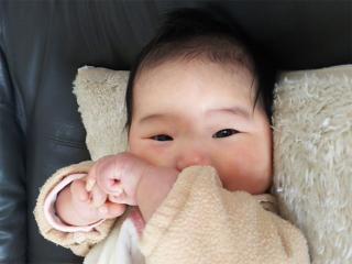 りおな生後3カ月